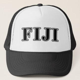Phi Gamma Delta Black Letters Trucker Hat