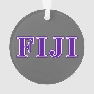 Phi Gamma Delta Purple Letters