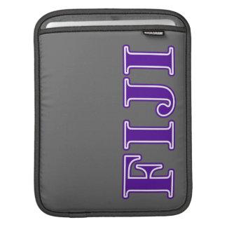 Phi Gamma Delta Purple Letters iPad Sleeves
