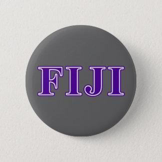 Phi Gamma Delta Purple Letters Pinback Button