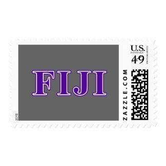 Phi Gamma Delta Purple Letters Postage