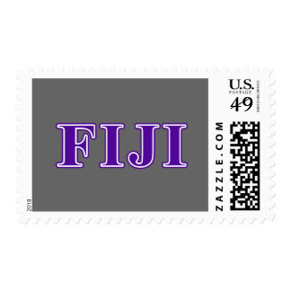 Phi Gamma Delta Purple Letters Postage Stamps