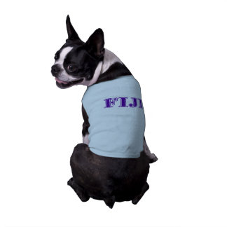 Phi Gamma Delta Purple Letters Shirt