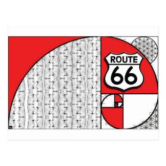 Phi ganticus Giganticus Headicus Route 66 Postcard