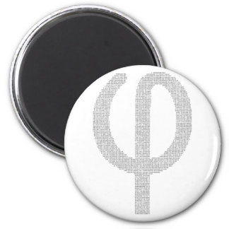 Phi (Golden Ratio) Fridge Magnets