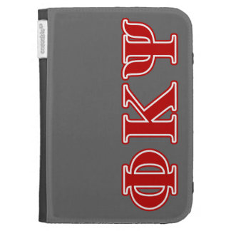 Phi Kappa Psi Red Letters Kindle 3 Covers