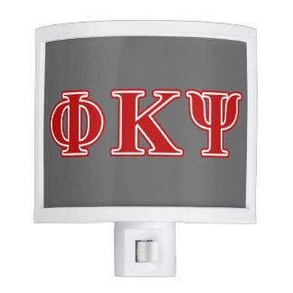 Phi Kappa Psi Red Letters Nite Lites