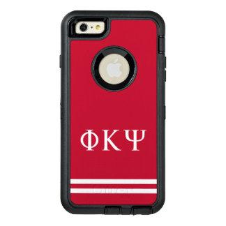 Phi Kappa Psi   Sport Stripe OtterBox Defender iPhone Case