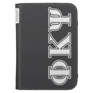 Phi Kappa Psi White Letters Case For The Kindle