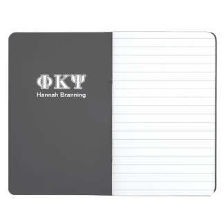 Phi Kappa Psi White Letters Journals