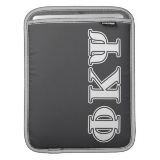 Phi Kappa Psi White Letters Sleeve For iPads