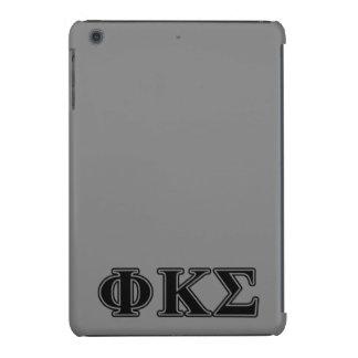 Phi Kappa Sigma Black Letters 2 iPad Mini Retina Cover