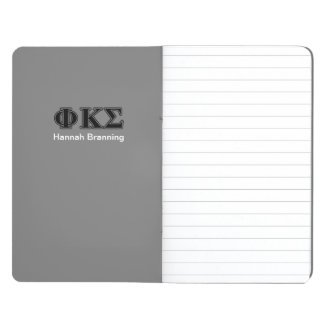 Phi Kappa Sigma Black Letters 2 Journal