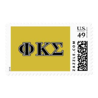 Phi Kappa Sigma Black Letters Postage