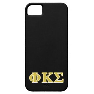 Phi Kappa Sigma Gold Letters iPhone 5 Cases