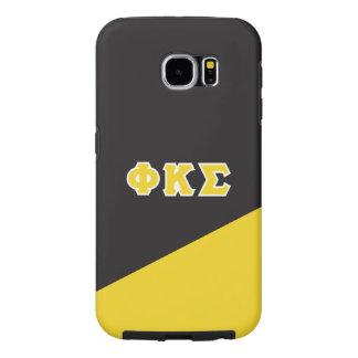 Phi Kappa Sigma   Greek Letters Samsung Galaxy S6 Case