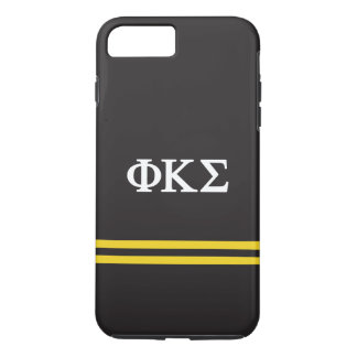 Phi Kappa Sigma | Sport Stripe iPhone 8 Plus/7 Plus Case