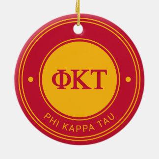 Phi Kappa Tau | Badge Ceramic Ornament
