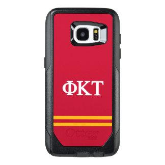 Phi Kappa Tau   Sport Stripe OtterBox Samsung Galaxy S7 Edge Case