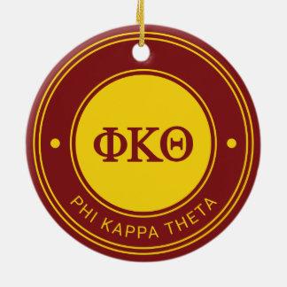 Phi Kappa Theta | Badge Ceramic Ornament
