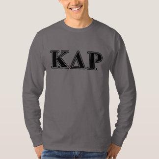 Phi Kappa Theta Black Letters T-Shirt