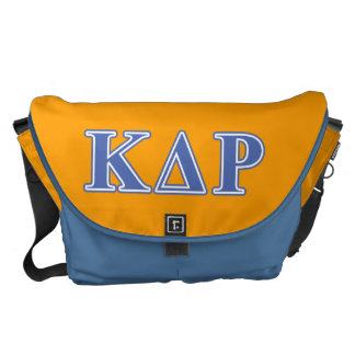 Phi Kappa Theta Blue Letters Courier Bag
