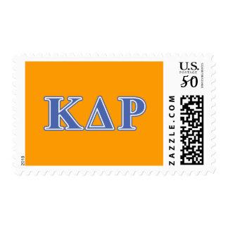 Phi Kappa Theta Blue Letters Postage