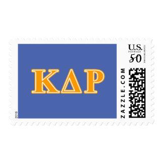 Phi Kappa Theta Orange Letters Postage
