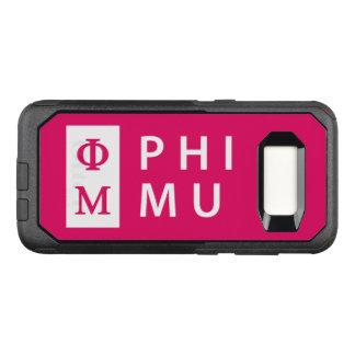 Phi Mu Stacked OtterBox Commuter Samsung Galaxy S8 Case