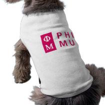 Phi Mu Stacked Shirt