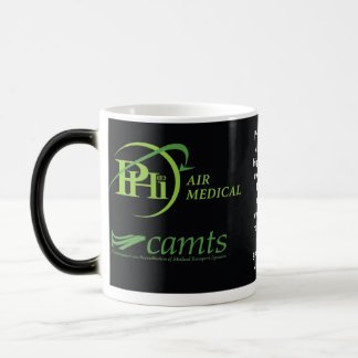 PHI NVG Logo for MUG, nvg helipad2, PHI Air Med... Magic Mug
