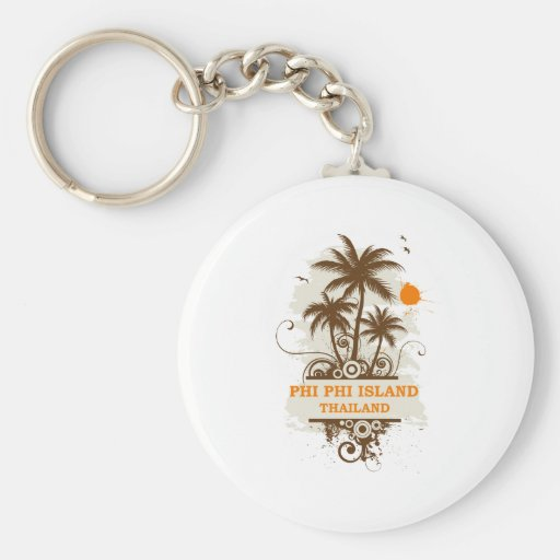 Phi Phi Island Thailand Keychains
