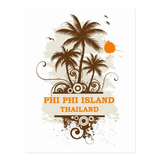 Phi Phi Island Thailand Postcard