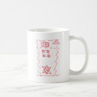 Phi See Thru Fractal Trees Coffee Mug