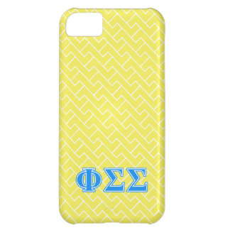 Phi Sigma Sigma Blue Letters iPhone 5C Cover