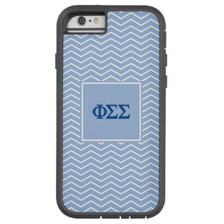 Phi Sigma Sigma | Chevron Pattern Tough Xtreme iPhone 6 Case