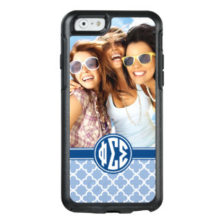 Phi Sigma Sigma | Monogram and Photo OtterBox iPhone 6/6s Case