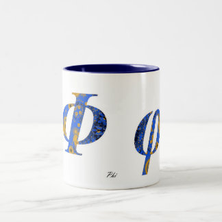 PHI Two-Tone COFFEE MUG