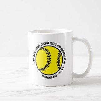 PHIL.314 - Softball Coffee Mug
