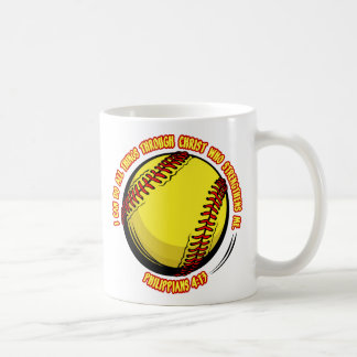 PHIL.413 - SOFTBALL COFFEE MUG