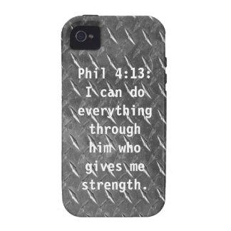 Phil 4 13 iPhone 4 Case Mate Case
