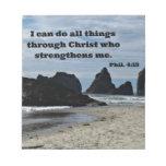 Phil. El 4:13 I puede hacer todas las cosas a Libretas Para Notas