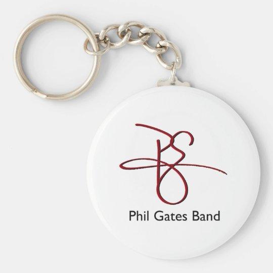 Phil Gates Band Clr Key Keychain