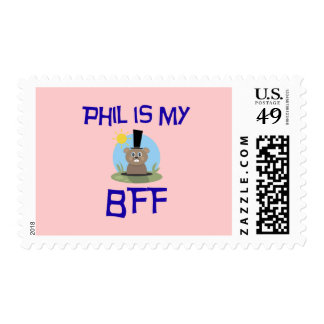 Phil is my BFF Postage