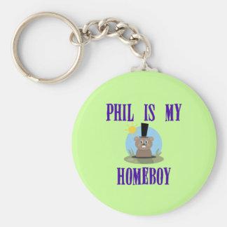 Phil is My Homeboy Basic Round Button Keychain