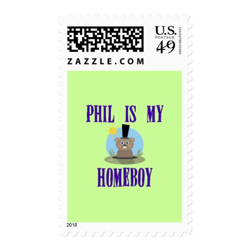 Phil is My Homeboy Postage