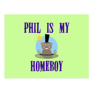 Phil is My Homeboy Post Cards