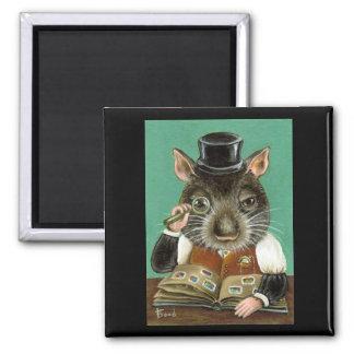 Phil la rata imán cuadrado
