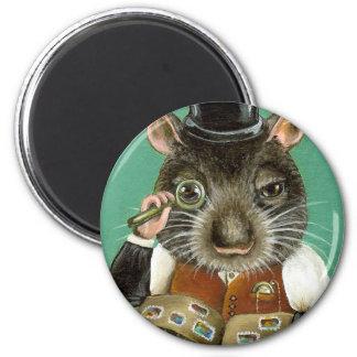 Phil la rata imán redondo 5 cm
