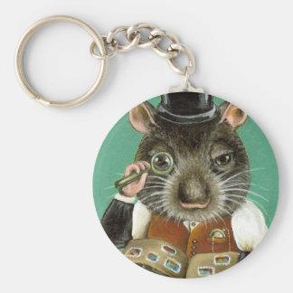 Phil la rata llavero redondo tipo pin